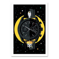 EERUNE 'Dark Side of the Moon'  |  Print Art  |  フレーム付
