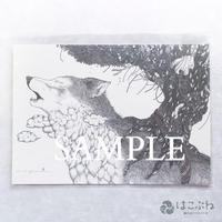 おやすみ B5ポストカード / yuni