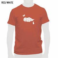 出雲の風景Tシャツ レッド/メンズ・レディース