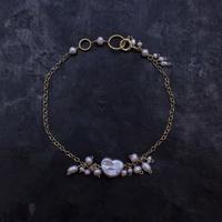 【受注販売】No.76 淡水真珠のブレスレット / hikalino