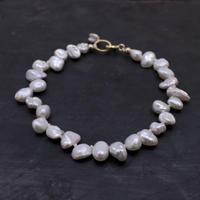 No.40 淡水真珠のブレスレット / hikalino