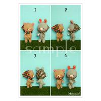 #3,4 ペローカちゃん4コマ ポストカード Minamin