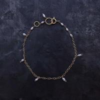 No.77 淡水真珠のブレスレット / hikalino
