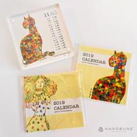 2019 カレンダー / KUBORIm
