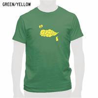 出雲の風景Tシャツ グリーン/メンズ・レディース