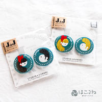 magatama J & J 缶バッチセット / KUBORIm