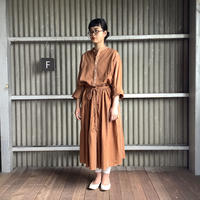 【 artea-2020spring06  】コットン/テンセル ワイドライプtaiスカート
