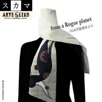 No.12 SCA★SCAMA  【  from a Rouge Planet 】オリジナルプリント &ハンドメイド 少数販売品