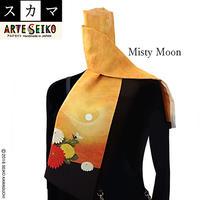 No.62 SCA★SCAMA 【Misty Moon】オリジナルプリント &ハンドメイド少数販売品