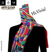 No.17 SCA★SCAMA【 Hi, Vivia! 】オリジナルプリント &ハンドメイド 少数販売品