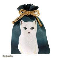 🎀 arteseiko オリジナル ミニ巾着 M12【 CAT 】