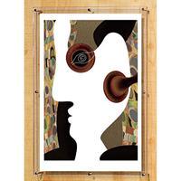 No.163★【 Side face of consciousness】意識の側面 A1 Bigサイズ10枚限定