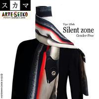 No.18-2 SCA★SCAMA 【Silent Zone】Type 2fishes 【サイレントゾーン】2匹タイプ オリジナルプリント &ハンドメイド 少数販売品