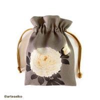 🎀 arteseiko オリジナル ミニ巾着 M18【 Aura 】