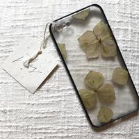 フローラル i phone 7/8 case  (ブラック)③