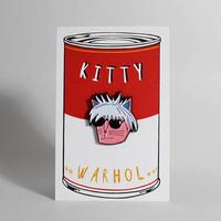 Niaski   ピンズ キティ・ウォーホル(Andy Warhol)
