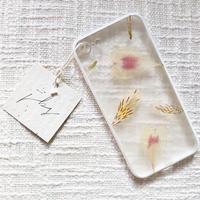 フローラル i phone 7/8 case (ホワイト)⑥