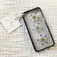 フローラル i phone 6/6S case(ブラック)③