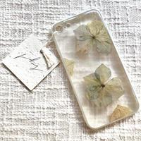 フローラル i phone 7/8 case (ホワイト)②