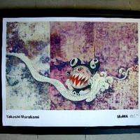 ブラックフライデーキャンペーン 村上隆 「727」オフセットポスター MOMA公式 大型・新品額入り