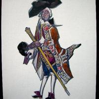 SALE mアールデコのポショワール版画 制作1919~1920 オリジナル