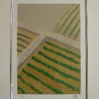 東山魁夷 リトグラフ 「季の詩・三月」    :売却済み