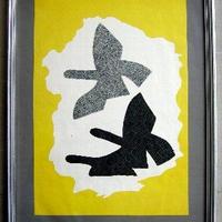 ジョルジュ・ブラックの展覧会オリジナルリトグラフポスター