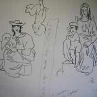 ジャン・コクトーのリトグラフ 5