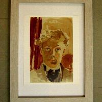 売却済み Xmas SALE Raoul  Dufy ラウル・デュフィのリトグラフ  「自画像」