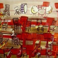 SALE Raoul  Dufy ラウル・デュフィのリトグラフ  コンサート