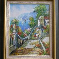 油彩 風景画  R-2         :売約済み