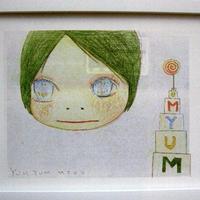 奈良美智 ドローイングファイル・ポスター  インテリア