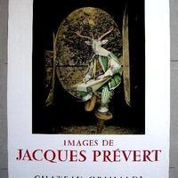 IMAGE DE  JACQUES   PREVERT ジャック・プレヴェールの記憶  リトグラフポスター