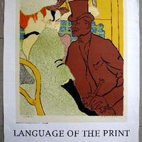 売却済み ロートレック リトグラフポスター  1970-1971 インディアナポリス ミュージアム
