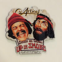 CHEECH &CHONG's UP IN SMOKE Clock