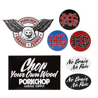 WING PORK STICKER SET