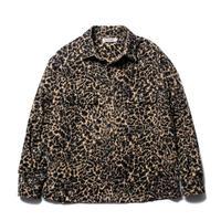 Corduroy Leopard CPO Jacket