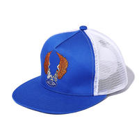 EMBROIDERED ANGELS MESH CAP