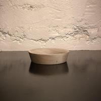 wood saucer A