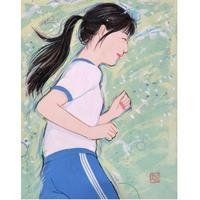 寒河江智果「走るのって楽しい!~青~」