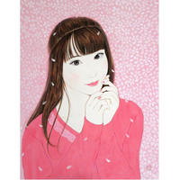 寒河江智果「桜デート~未来~」