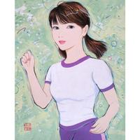 寒河江智果「走るのって楽しい!~紫色~」
