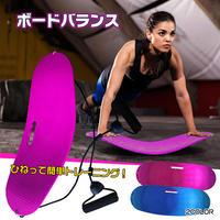ひねって簡単!腹筋&体幹トレーニング!バランスボード