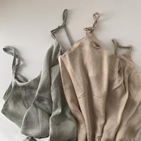satin camisole OP/3color