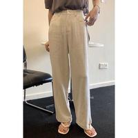 cotton linen slacks