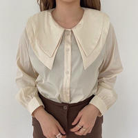 design collar shirt/2color