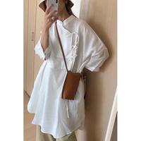 【linen 100%】china tunic