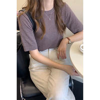 summer knit tee/6color[0058]