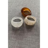【@coro_3.9様セレクト】marble ring set