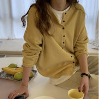 candy color cardigan/5color